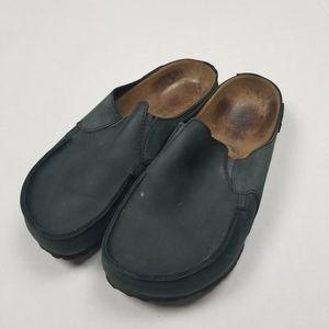 Birkis Slip on Closed Toe Sandals Sz 6 GUC